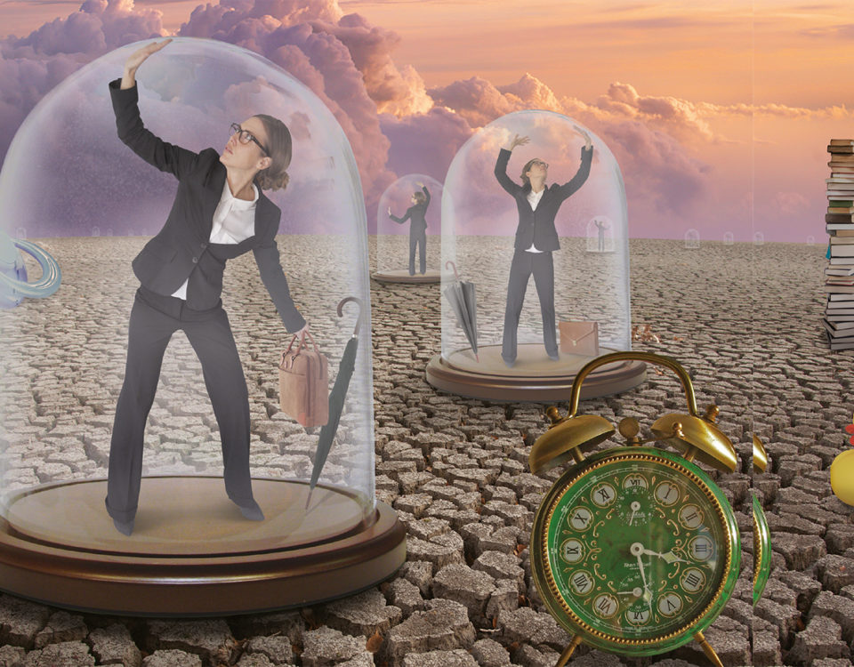 Glazen Plafond foto: HP de Tijd